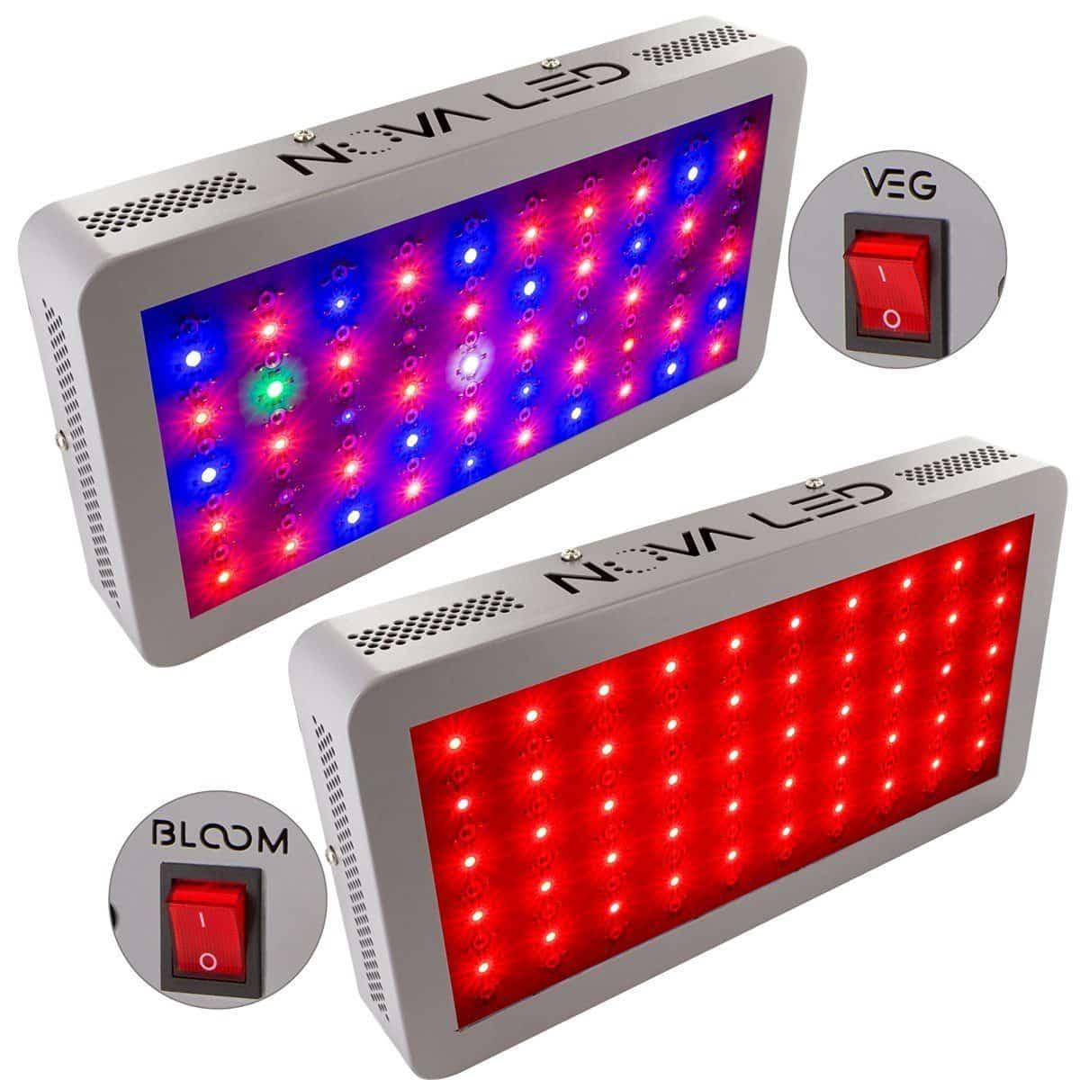 Ultimate LED Grow Light - Nova N300S Full Spectrum 300w Review