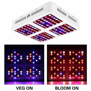 MORSEN LED Review - Reflector Series 1200W (Full Spectrum) - Grow Light Review